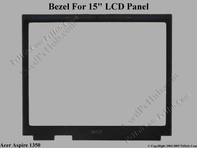 "Front Bezel For 15"" LCD Panel"