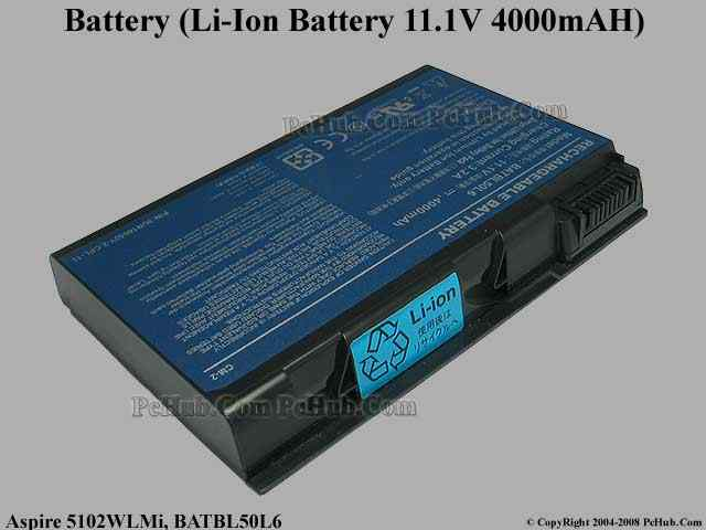 Lithium-Ion Battery 11.1V 4000mAH