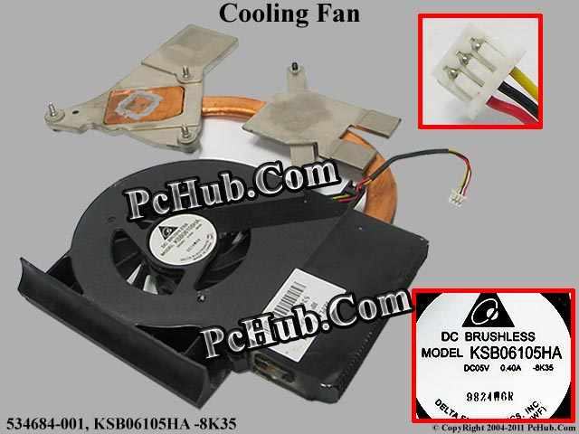DC5V 0.4A heatsink fan, 1 air outlet
