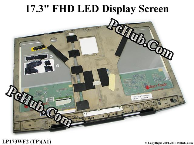 "17.3"" WideFHD 3D 120Hz WLED Display Screen"