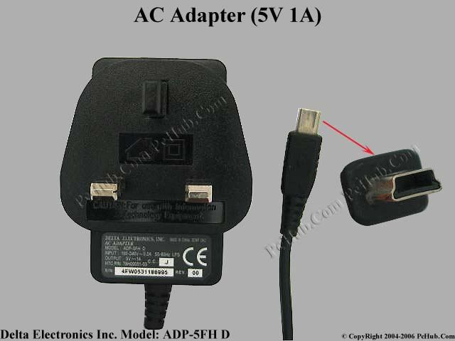 5V 1A, Tip Mini USB