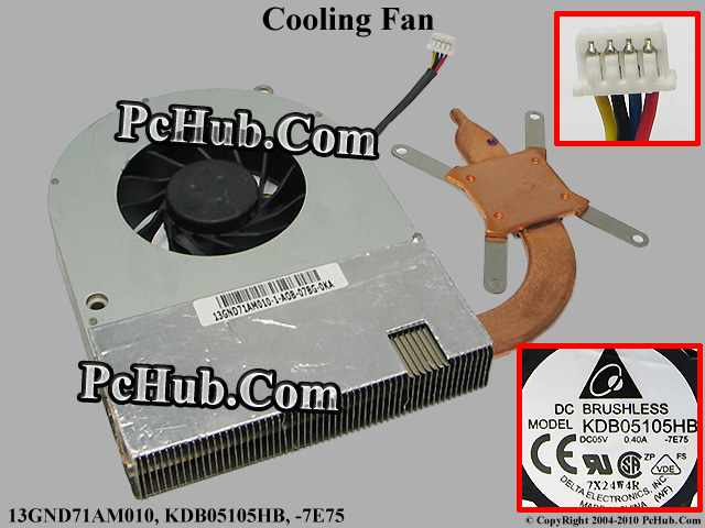 DC5V 0.40A heatsink fan