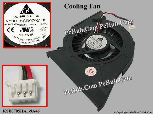 DC 5V.4A Bare fan