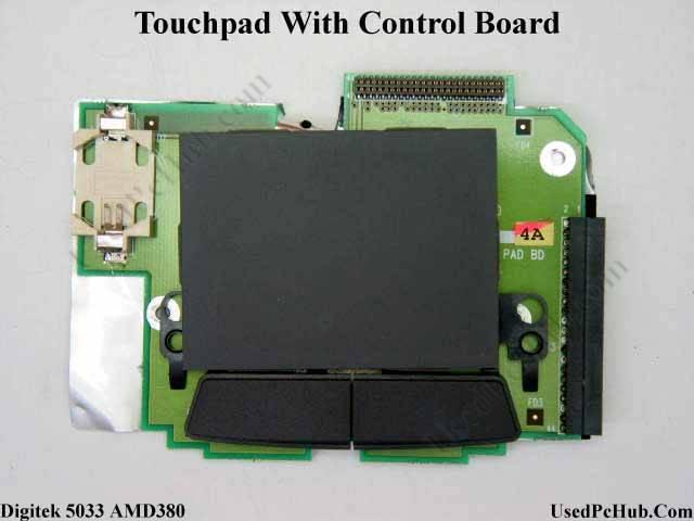 Touchpad With Control Board