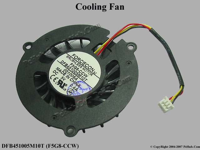 DC5V 0.4A Round fan 48x48x11mm