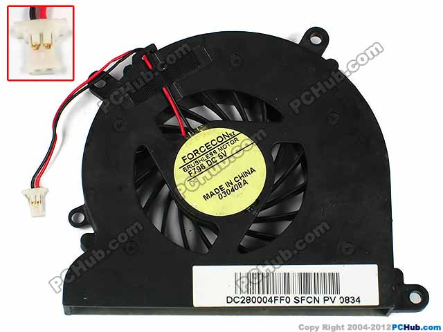 DC5V 0.5A Bare Fan