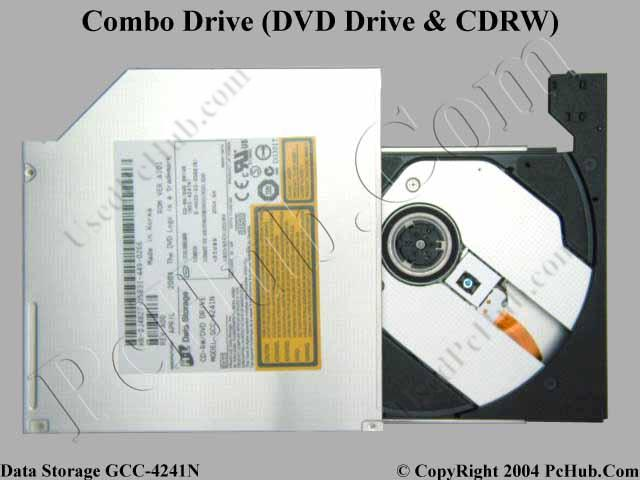 Bare Internal DVD-ROM/CD-RW Combo Drive