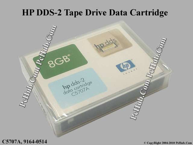 HP DDS-2 Tape Drive Data Cartridge