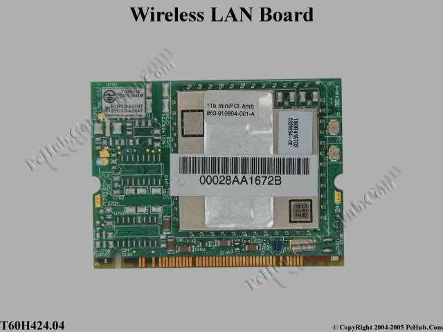 Mini PCI 802.11b WLAN Card (Ambit)