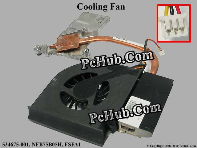 DC 5V 0.43A heatsink fan, 1 air outlet