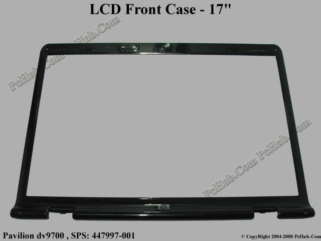 "17.0"" Single Lamp LCD Front Bezel"