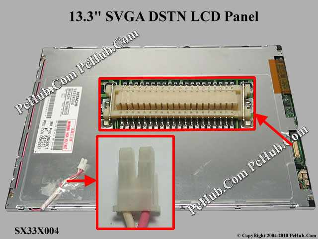 "13.3"" SVGA DSTN LCD Display Screen"