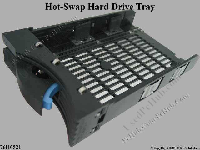 Hot-swap hard drive tray kit Without Hard Drive