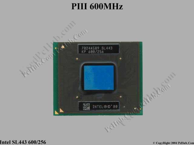 Mobile Intel® Pentium® III Processors 600 MHz