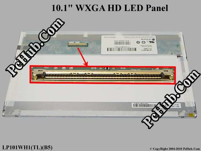 "10.1"" WXGA HD LED Display Screen"