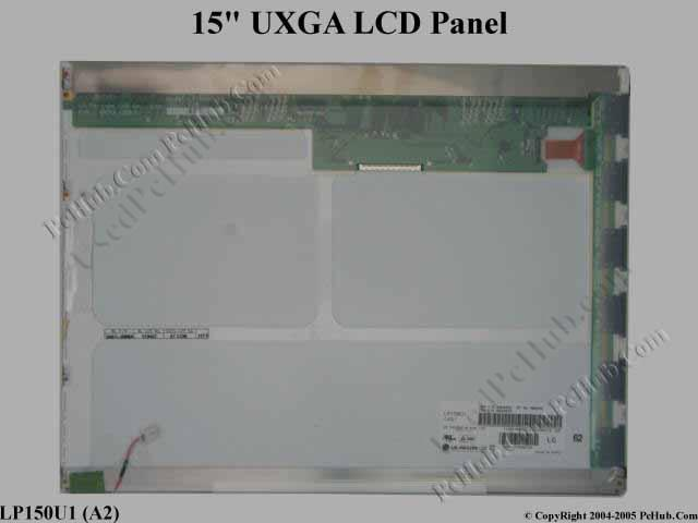 "15"" UXGA LCD Display Screen"