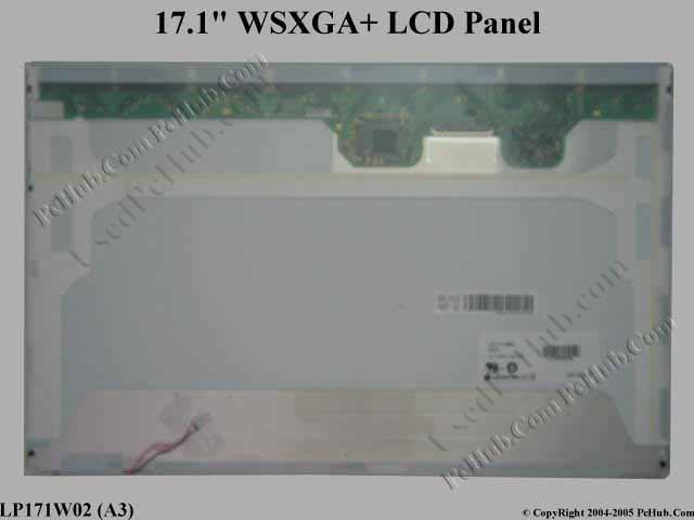 "17.1"" WSXGA+ LCD Display Screen"