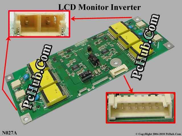LG N027A LCD Monitor / TV Inverter (6). LCD Monitor Inverter.