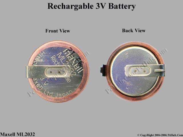 3V Recahargeable Coin Battery