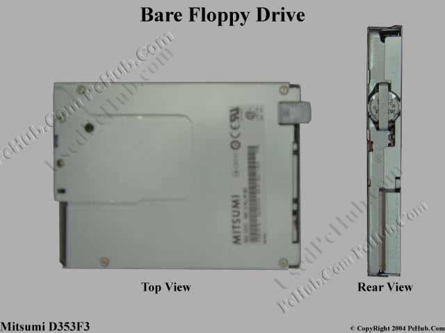 Bare 3.5-inch 1.44MB Floppy Drive