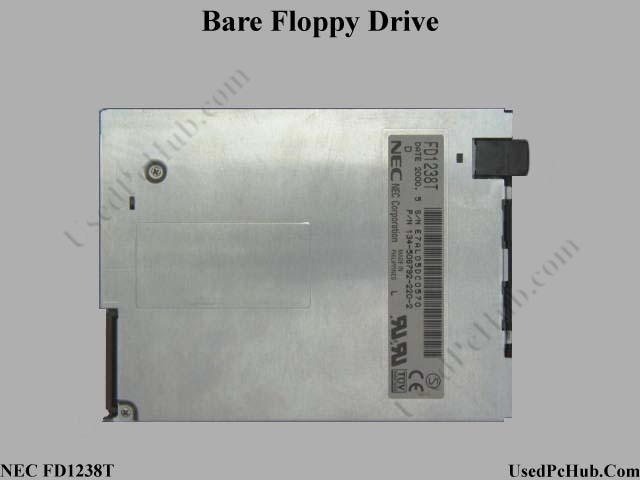 Bare Internal 1.44MB Floppy Disk Drive