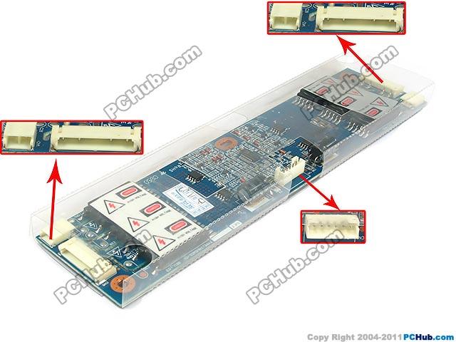 6-Pin, 12V-24V For 6-Lamp