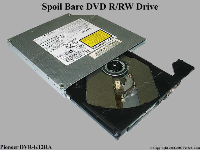 Spoilt Bare DVD±RW Writer (Dual Layer)