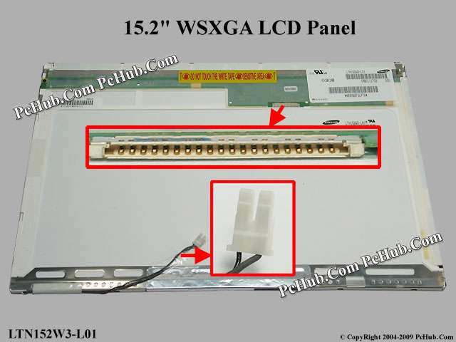 "15.2"" WSXGA LCD Display Screen"