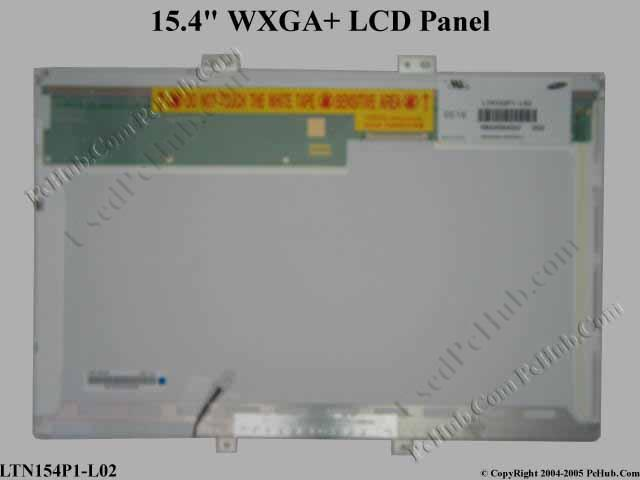 "15.4"" WXGA+ LCD Display Screen"