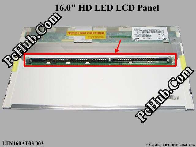 "16.0"" HD LED LCD Display Screen"