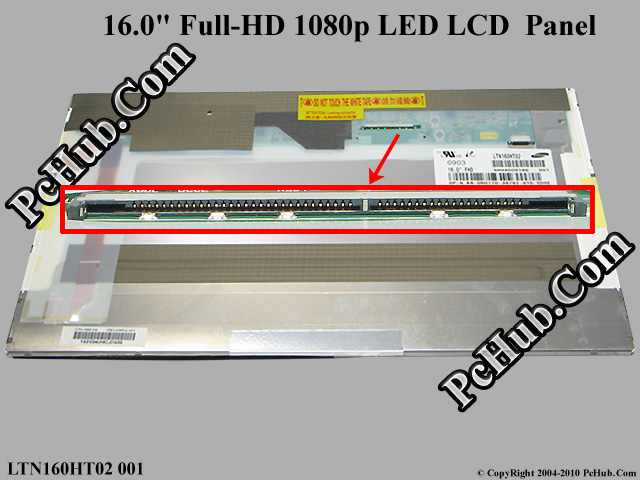 "16.0"" Full-HD 1080p LED LCD Display"