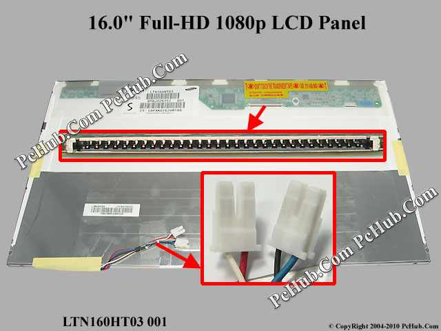 "16.0"" Full-HD 1080p LCD Display Screen"