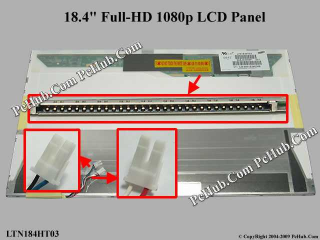"18.4"" Full-HD 1080p LCD Display Screen"