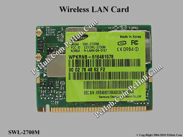 Mini PCI 802.11b/g WLAN card