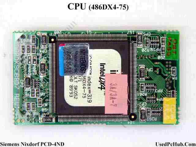 CPU Board Intel 486DX4-75
