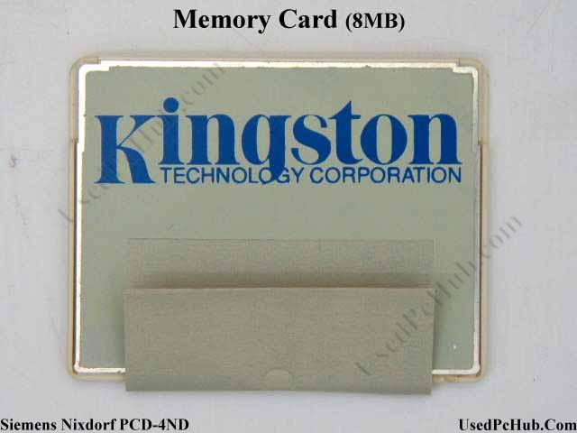 Siemens Nixdorf PCD-4ND Memory Card 8 MB (credit card Size)