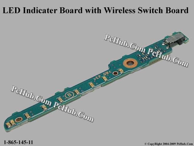 LED Indicater Board with Wireless Switch Board