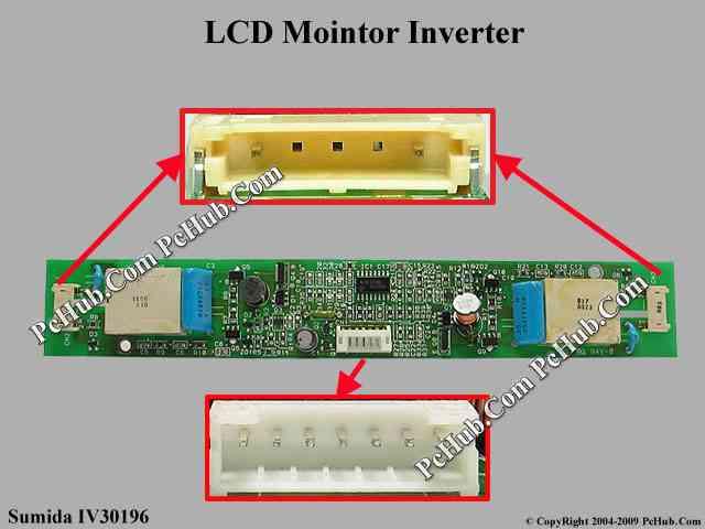 Sumida IV30196 LCD Monitor / TV Inverter.