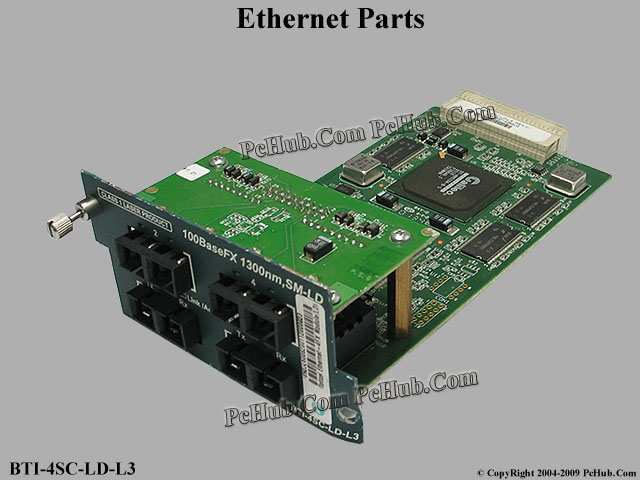 4 ports 100BaseFX interface module 1310nm