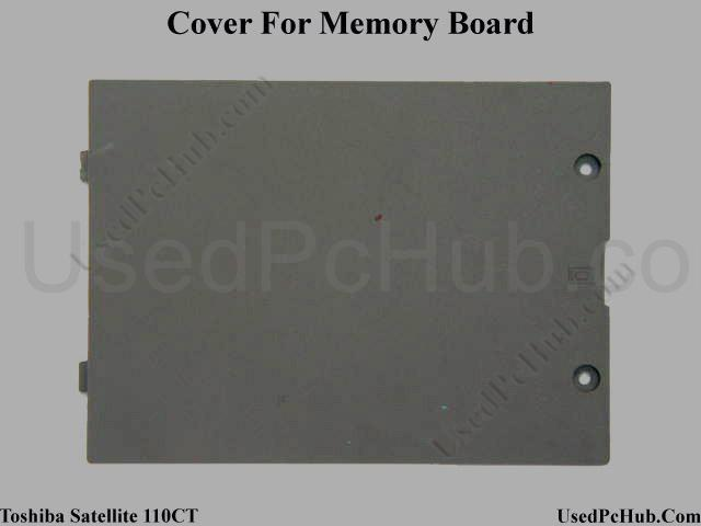 Toshiba Satellite 110CT Memory Board Cover