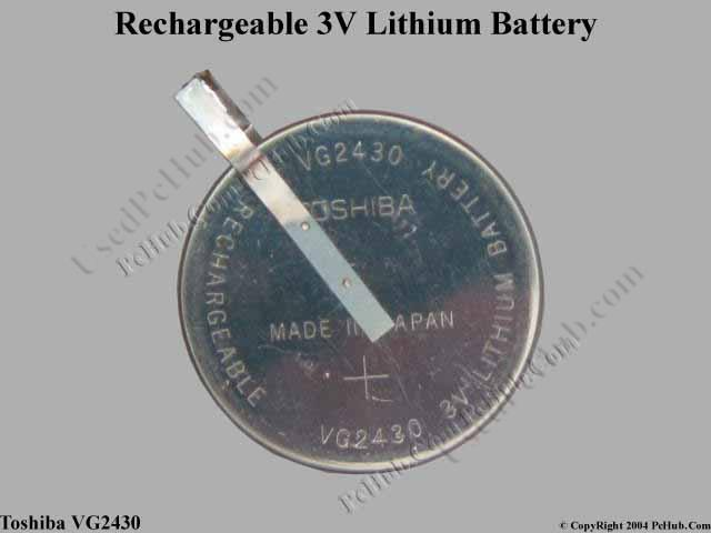 Rechargeable 3V Lithium Battery