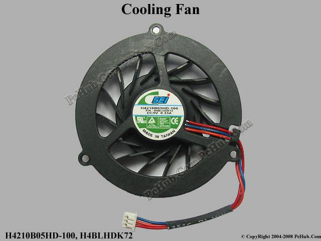 """NEW"" DC5V 0.33A Round fan 48.5x48.5x9.5mm"